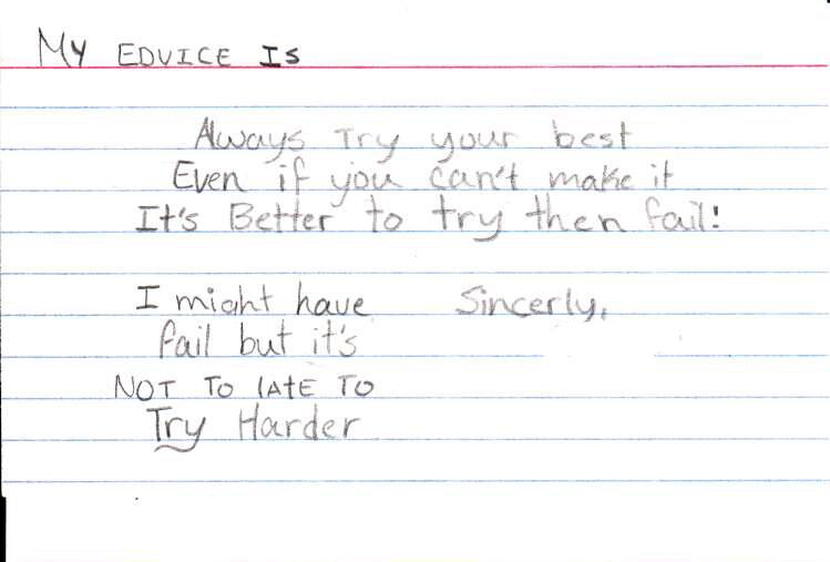 Advice Card 11